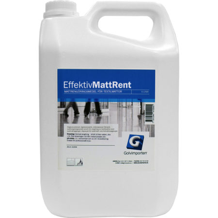 Golvimporten Effektiv Mattrent 5 L