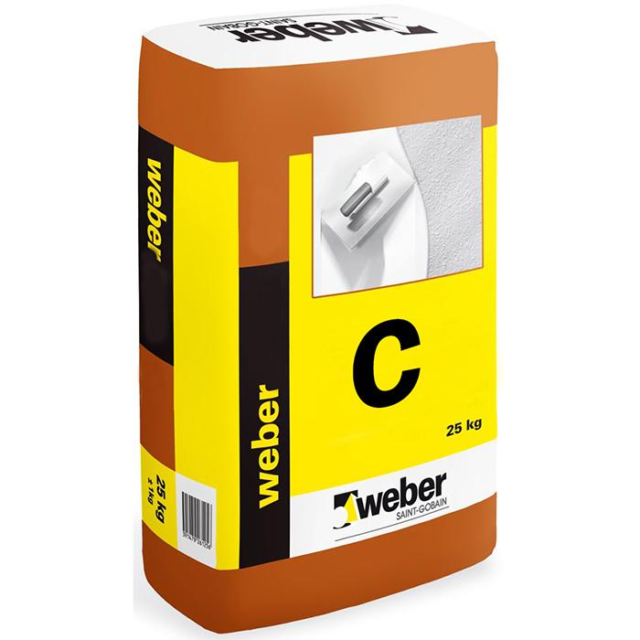 Weber Marmettone ljusgrå fogmassa 25 kg